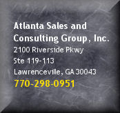 Atlanta Sales Training and Consulting Contact Button